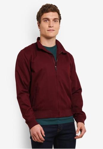 Topman red Burgundy Jacket TO413AA0SAF2MY_1