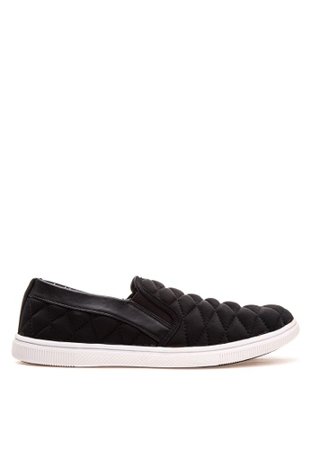 Wade black Slip on Sneakers WA436SH58LOJPH_1