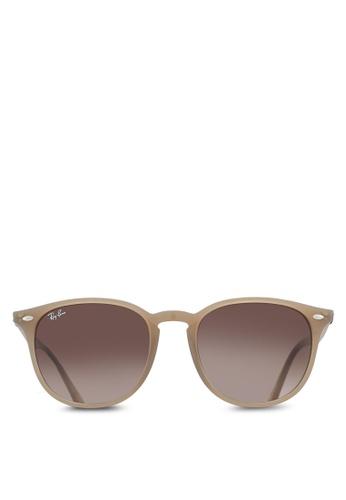 Ray-Ban brown RB4259F Sunglasses RA896GL09UUKMY_1