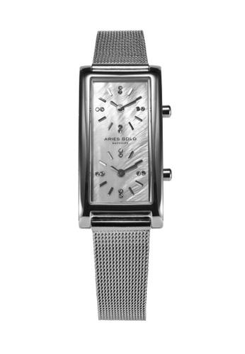 Aries Gold silver Aries Gold Enchant Gemini Silver Watch D3EB5AC6443560GS_1