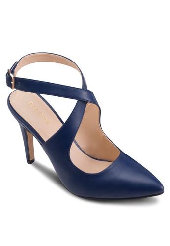 交叉會帶高跟鞋、 女鞋、 鞋ZALORA交叉會帶高跟鞋最新折價