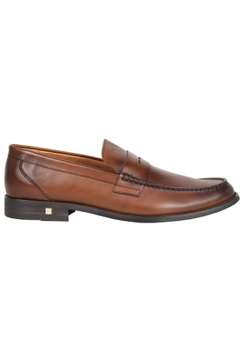 Tomaz brown Tomaz F180 Penny Loafers (BROWN) 65948SH2A8F396GS_1