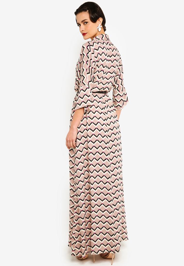 Anaya Dress PETRA Dress Print Anaya Nude zrqPz
