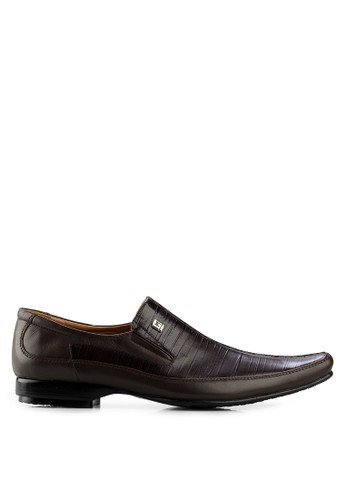 Marelli brown Bologna Formal Shoes MA036SH15FHOID_1