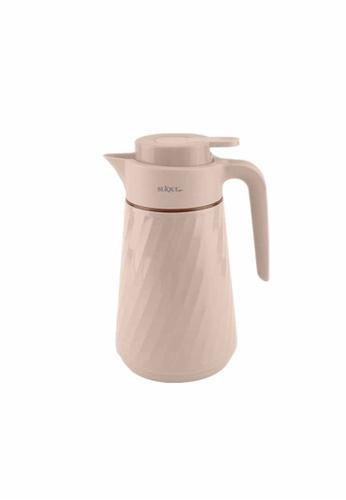 Slique beige Premium Vacuum Flask 1.0l B0F69HL28C0027GS_1