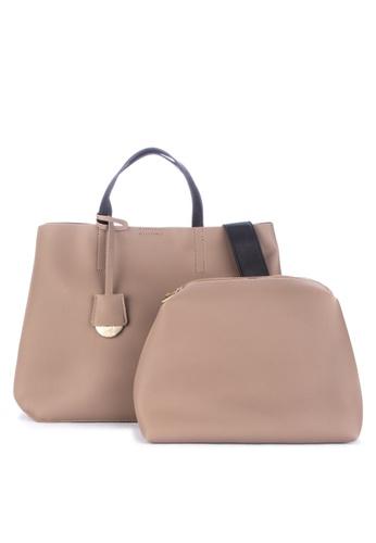 Hopeful Solid Tone Tote Bag