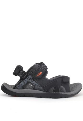 World Balance black Raven Trail Mens Sports Sandals B176ASHBF31B58GS_1