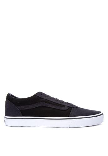 VANS navy 2-Tone Ward Sneakers 31D9ASH4118FC2GS_1