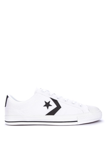 Converse white Star Player Summer Sneakers C59F0SHDA21254GS_1