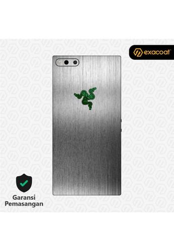 Exacoat Razer Phone 3M Skins Titanium Onyx - Cut Only 1B3AAES741FE02GS_1