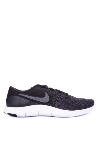 Nike black Men's Nike Flex Contact Running Shoes NI126SH0WCLEID_1