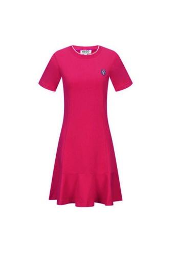 KENZO pink Kenzo Knit Tiger Skate Dress in Pink 952BEAA8568008GS_1