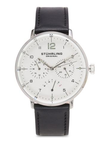Stuhrling Original silver Quartz Multifunction Silver Dial Watch A1FC1ACA6E5F6AGS_1