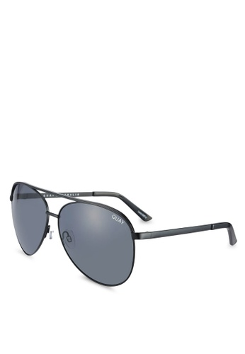 Quay Australia black Vivienne Sunglasses QU661GL0RLWNMY_1