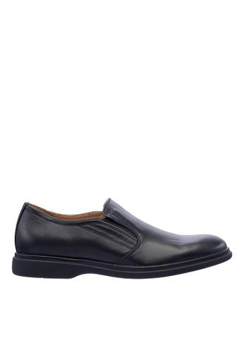 Hush Puppies black Hush Puppies Men's Reston Slip On Dress Shoe - Black 82DD1SHDD3E90EGS_1