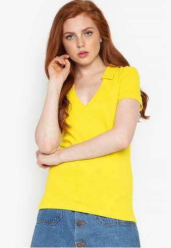 51d41e8fd462 Shop Spring Fling Pique Polo Shirt Online on ZALORA Philippines