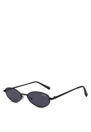 Quay Australia black Showdown Sunglasses DC63BGLBC3B16AGS_1