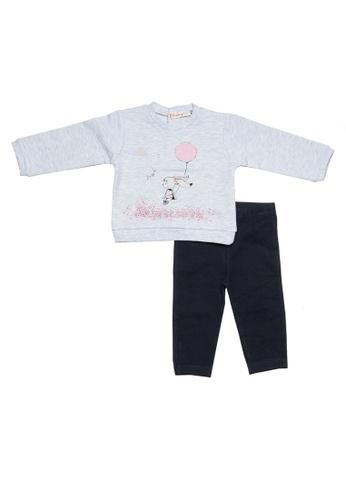 Babybol grey and multi and navy Baby's 2 Pcs Set 09EA7KA764FF8EGS_1