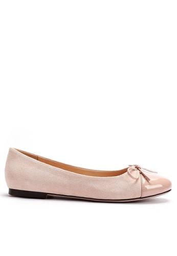 Twenty Eight Shoes 絨面織物拼接平底鞋 889-2 F8677SH9C44F00GS_1