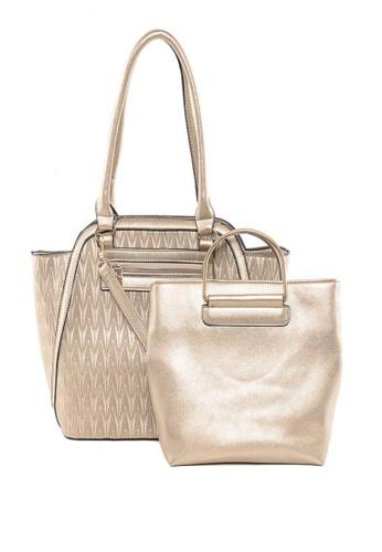 House of Bai beige European  Structured Top Handle Bag-Reese 1 HO716AC0JK53PH_1