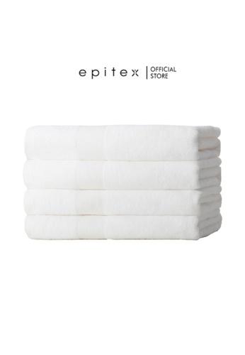 Epitex Epitex Viogard Luxury Bath Towel - Anti-Bacteria (White) 19A6FHL409AD0CGS_1