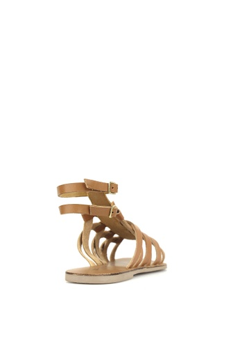 1e299215e8ce Buy Betts Troy Leather Gladiator Sandals Online
