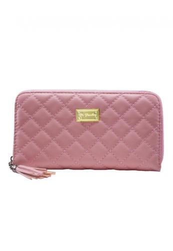 Her Jewellery pink Quilt Wallet HE581AC0RAZ9MY_1