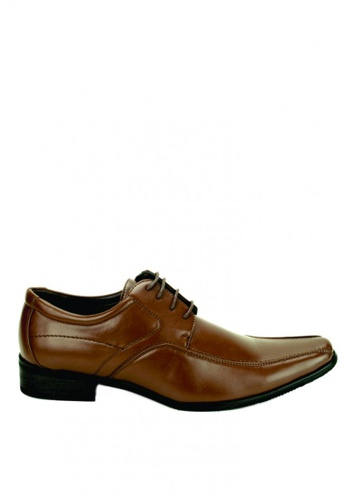 Cardam's Lifestyle brown Hector Formal Shoes CA993SH0JCT2PH_1