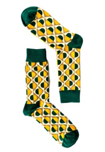 KOZA multi KOZA Golden Greenie Sock EBBE7AAC7DED48GS_1