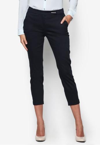 棉質七分西裝長褲, 服飾, zalora taiwan 時尚購物網長褲及內搭褲