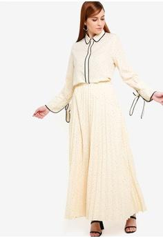 19678f1f876 65% OFF Zalia Pleated Skirt RM 144.00 NOW RM 49.90 Sizes XS