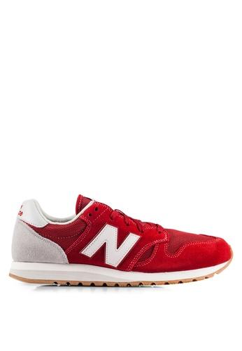 New Balance red 520 70s Running Lifestyle Sneakers NE323SH0RHC7MY_1
