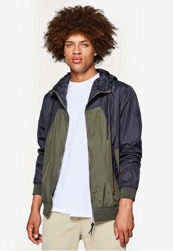 ESPRIT black Outdoor Woven Regular Jacket EF0DEAA2F72ECFGS_1