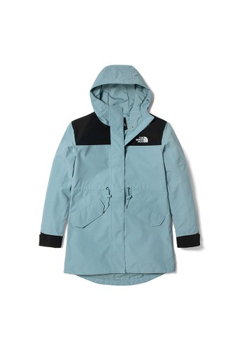 The North Face blue The North Face Women Metroview Trench Jacket Blue-NF0A4U9OBDT 63810AA08DC6FBGS_1