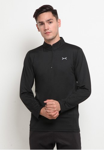 Flexzone black FLEXZONE Long Sports Jersey Ascend Series Black 0D291AAE6A6A60GS_1