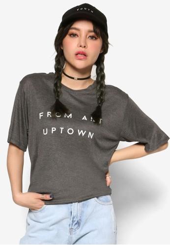 韓系時尚 From Art esprit香港門市Uptown 短袖上衣, 服飾, 俏皮男孩風