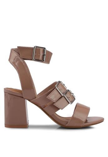 Rubi Shoes Brown Heels