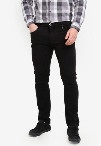 Fidelio 黑色 修身直筒褲 97DCCAA61D53F6GS_1