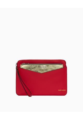 Calvin Klein red Calvin Klein Cny Special 2 In 1 Pouch Gift Set 94D0BAC2266047GS_1