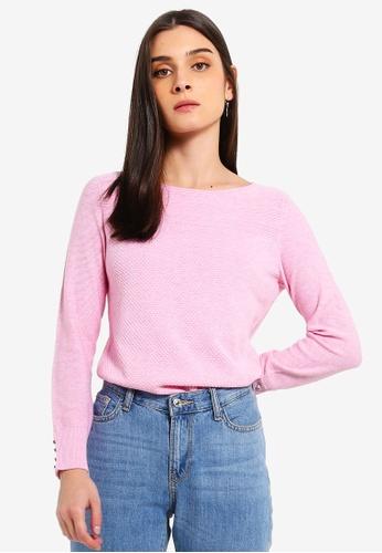 013dfbf776 Buy ESPRIT Long Sleeve Sweater Online on ZALORA Singapore