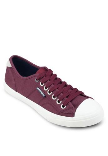 Low Pro 帆布繫帶運動鞋, 鞋, esprit台灣outlet鞋