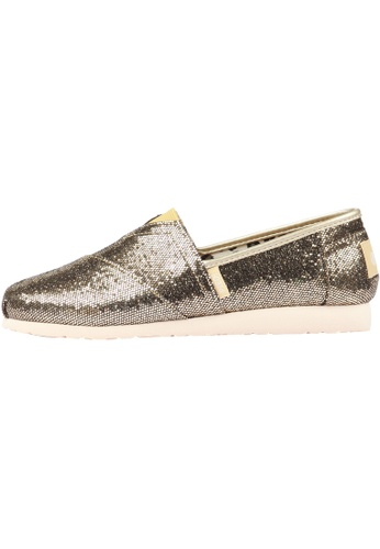 paperplanes Paperplanes-1199 Fashion Glitter Shiny Slip-Ons Sneakers Shoes US Women Size PA110SH90ZLLHK_1