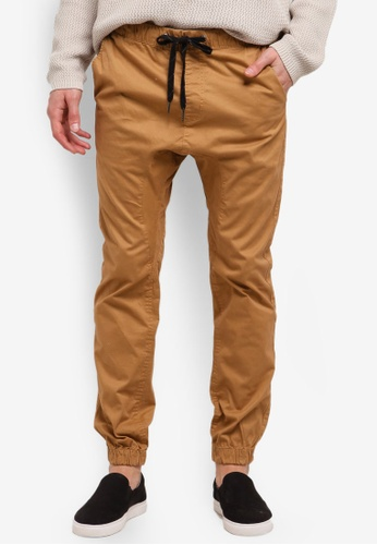 Cotton On grey Drake Cuffed Pants CO372AA0RRDGMY_1