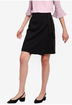 d1e184976a ZALORA black Straight Skirt 63D1DAABE9C3DDGS_1