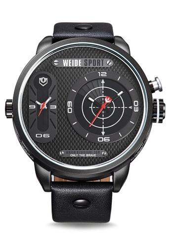 Weide white WH3409B-1C Analog Watch WE088AC90KVPPH_1