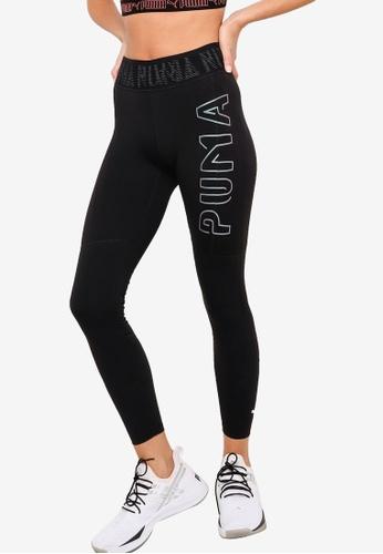 PUMA black Logo Women's 7/8 Leggings B1998AA424DB56GS_1