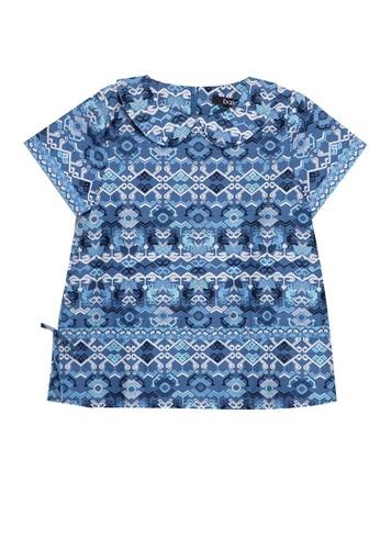 Bateeq blue Girl Ktn Print 20B36KAD96D48AGS_1
