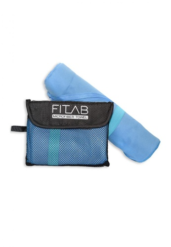 Fitlab blue Microfiber Beach Towel 80C3EHLA8FC92FGS_1