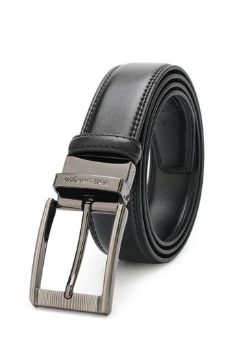 Volkswagen black Men's Belt - 35mm Reversible Belt 6D2D1AC8D13062GS_1