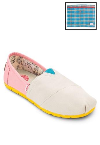 HINATA 帆布esprit 京站懶人鞋, 女鞋, 鞋